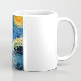 A Starry Night at Hogwarts Coffee Mug
