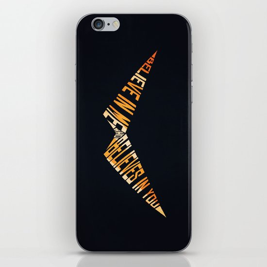 Believe In Me Who Believes In You iPhone & iPod Skin