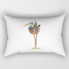 Numero 9 -Cosi che cavalcano Cose - Things that ride Things- Rectangular Pillow