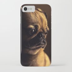 Cute Pug Dog iPhone 7 Slim Case