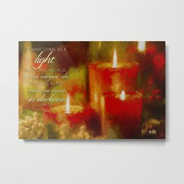 Christmas Light Metal Print