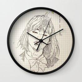 chicka yoongi Wall Clock