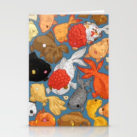 For The Love Of Goldfish Stationery Cards