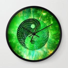 Electric body Meditation Wall Clock