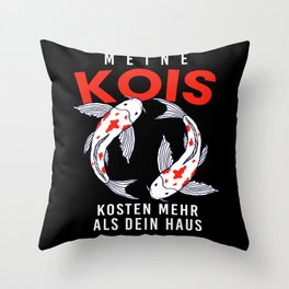 Kois Costs More Than House Throw Pillow
