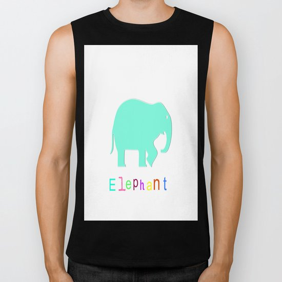 Elephant- Biker Tank