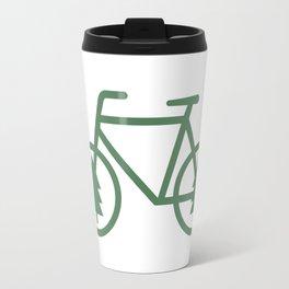 Pacific Northwest Cycling - Bike, Bicycle, Portland, PDX, Seattle, Washington, Oregon, Portlandia Travel Mug