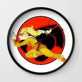 Cheetara Wall Clock