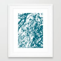 stone Framed Art Prints featuring Stone by mangulica