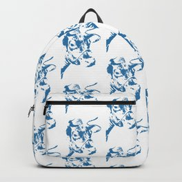 Follow the Herd - All Over Blue #761 Backpack