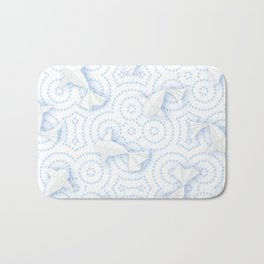 Origami Koi Fishes (Porcelain Version) Bath Mat