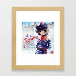 Bisou bisou from Paname Framed Art Print