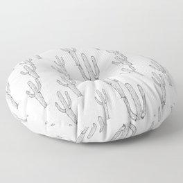 saguaro cactus Floor Pillow