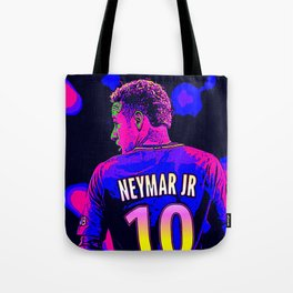 Neon Neymar Tote Bag