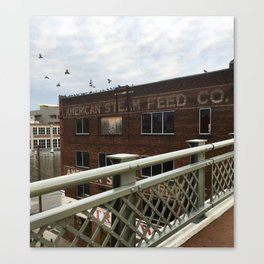 Nashville American Steam Feed Co. Canvas Print