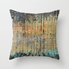 Waiting for Irma Throw Pillow