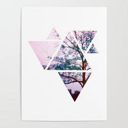 Polygon Tree Poster