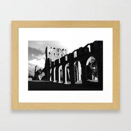 Llanthony Priory, Abergavenny, Wales Framed Art Print