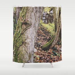 """""""Tree traces"""" Shower Curtain"""