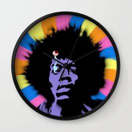 Trippy Hendrix Wall Clock