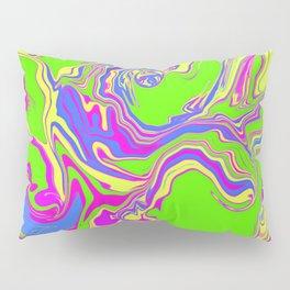 Neon Oil Spill Pillow Sham