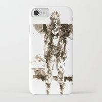 metal gear solid iPhone & iPod Cases featuring Metal Gear Solid wolf by Hisham Al Riyami