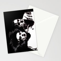 Dr Frankenstein and the Bride of the Monster Stationery Cards