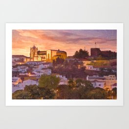 Silves, Portugal Art Print