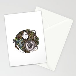Chinese Mythic Creatures and Legends 【山海神兽·插画】   Stationery Cards