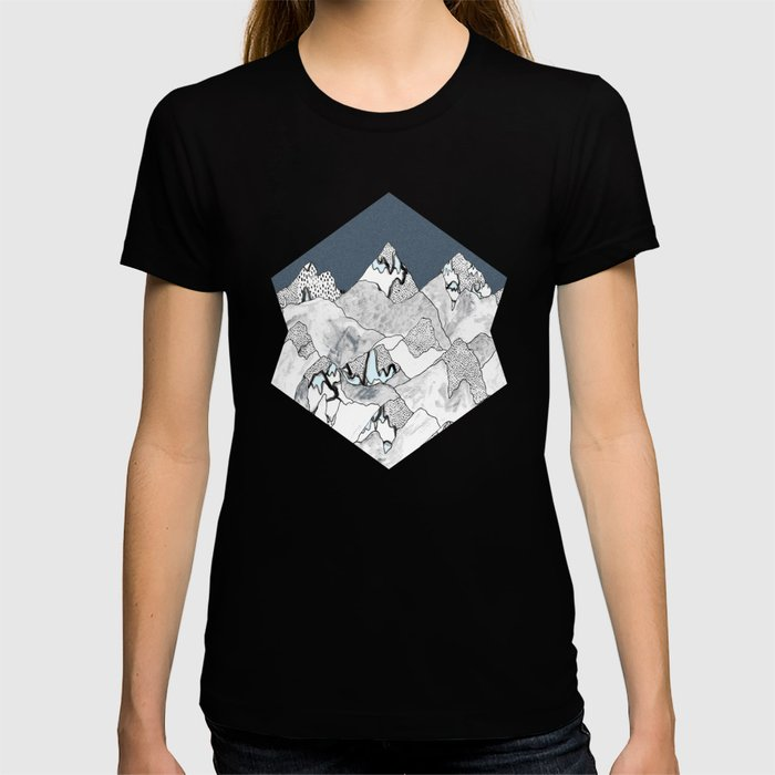 At night in the mountains T-shirt