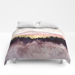 Plum Forest Comforters