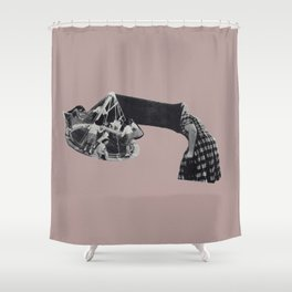 Turning for nothing Shower Curtain