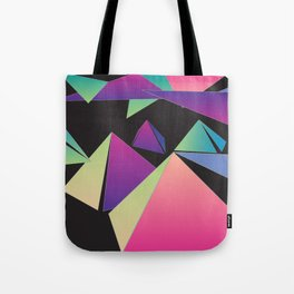 Pyramid Clouds Tote Bag