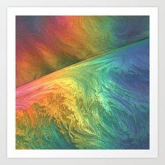 Color Storm Art Print