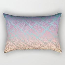 Pink Beige Elephant Skin Rectangular Pillow