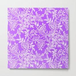 Radiant Orchid Tea Metal Print