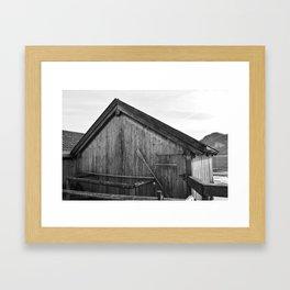 Boathouse No.2 Framed Art Print