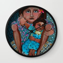 """I Say- No More"" Wall Clock"