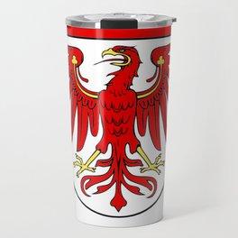 Flag of brandenburg Travel Mug