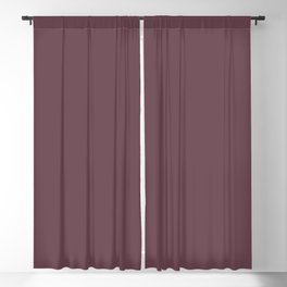 Dunn and Edwards 2019 Curated Colors Wine Stain (Dark Grape Purple) DEA145 Solid Color Blackout Curtain
