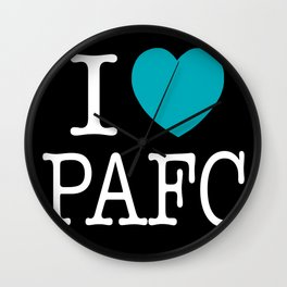 I LOVE PORT ADELAIDE Wall Clock