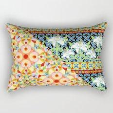 Tangerine Confetti Lilies Rectangular Pillow