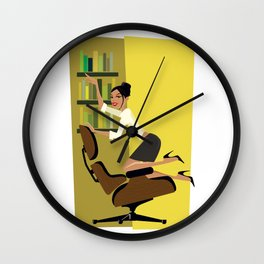 To the Left… Wall Clock