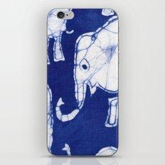 Batik Elephants iPhone & iPod Skin