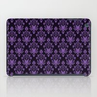haunted mansion iPad Cases featuring Haunted Wallpaper by Ellador