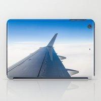 airplane iPad Cases featuring Airplane by Fernando Derkoski