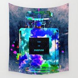 Perfume Dark Grunge Wall Tapestry