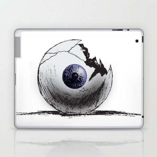 Broken Eye Laptop & iPad Skin