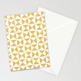 Mustard yellow Mid century Stationery Cards