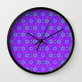 Electric Kaleidoscope Wall Clock